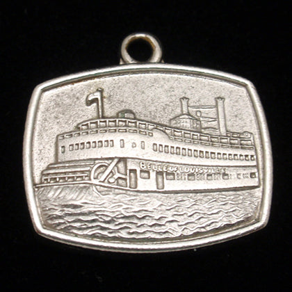 Vintage silver Belle of Louisville charm