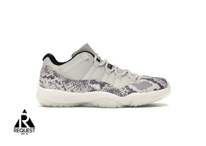 "Air Jordan 11 Low ""Snake Light Bone"""