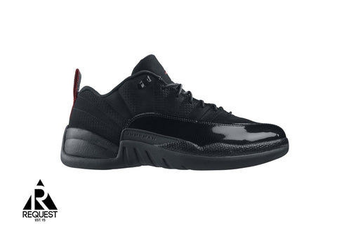 "Air Jordan 12 Retro Low ""Black Patent"""