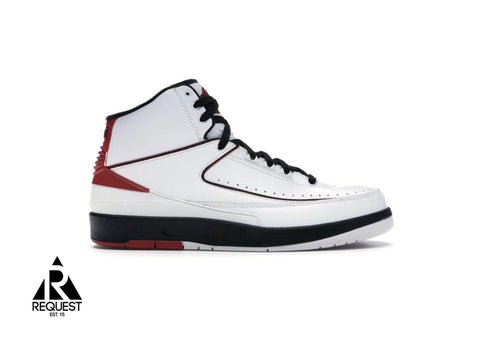 "Air Jordan 2 Retro High ""QF White Varsity Red 2010"""