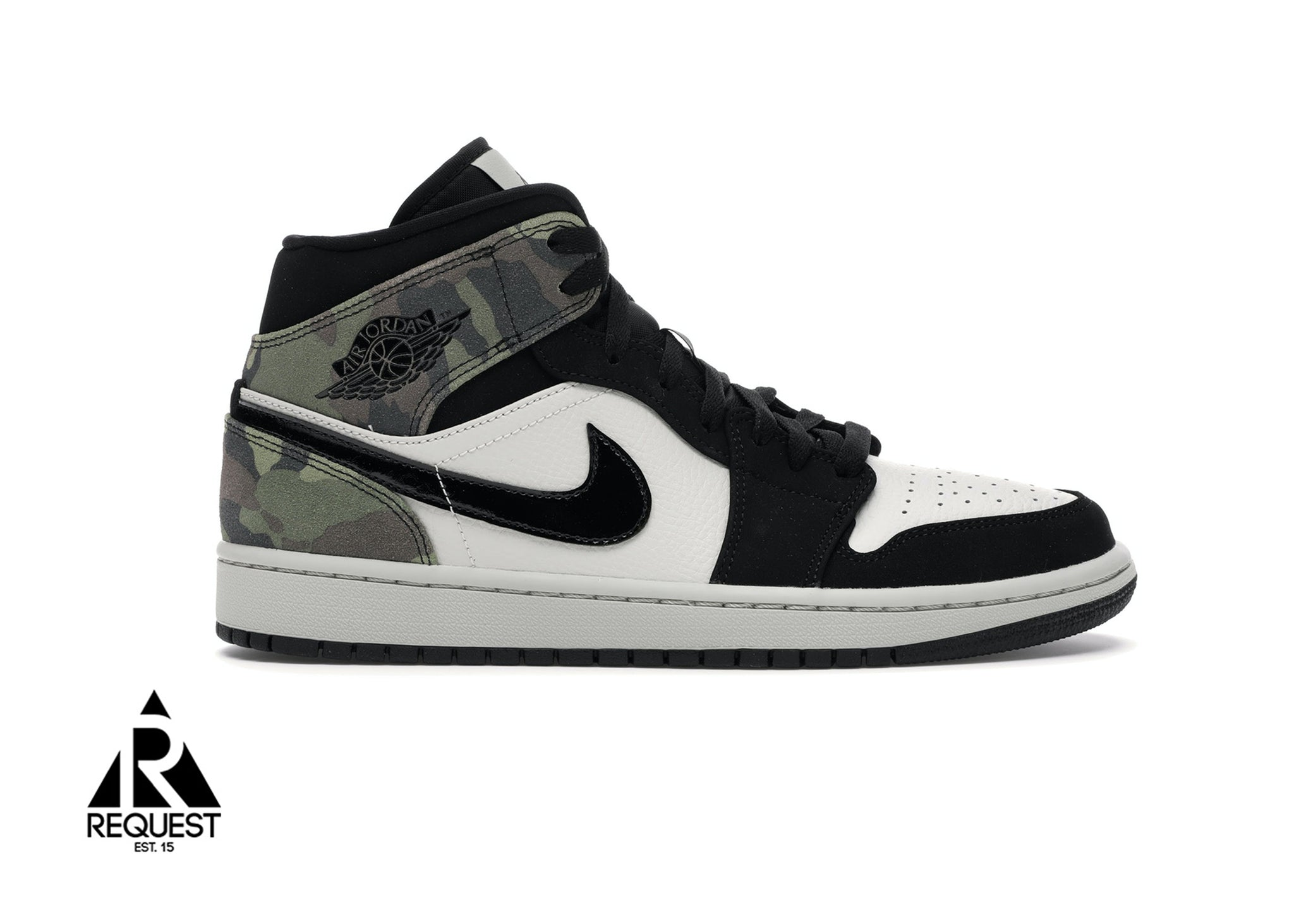 "Air Jordan 1 Retro Mid ""Camo"""