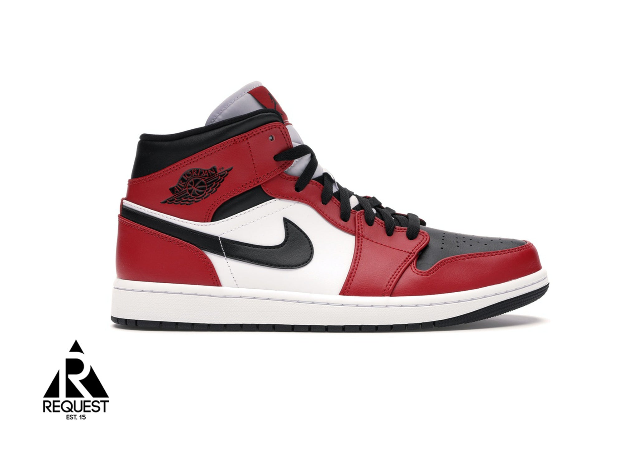 "Air Jordan 1 Mid ""Chicago Toe"""