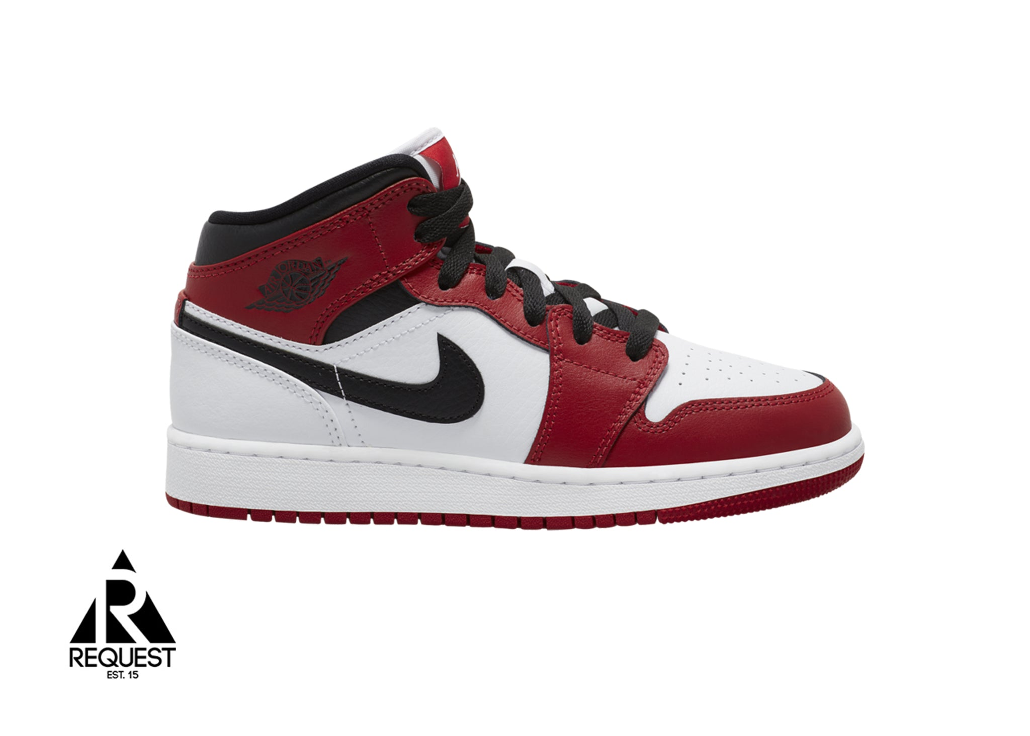 "Air Jordan 1 Mid ""White Heel Chicago"""
