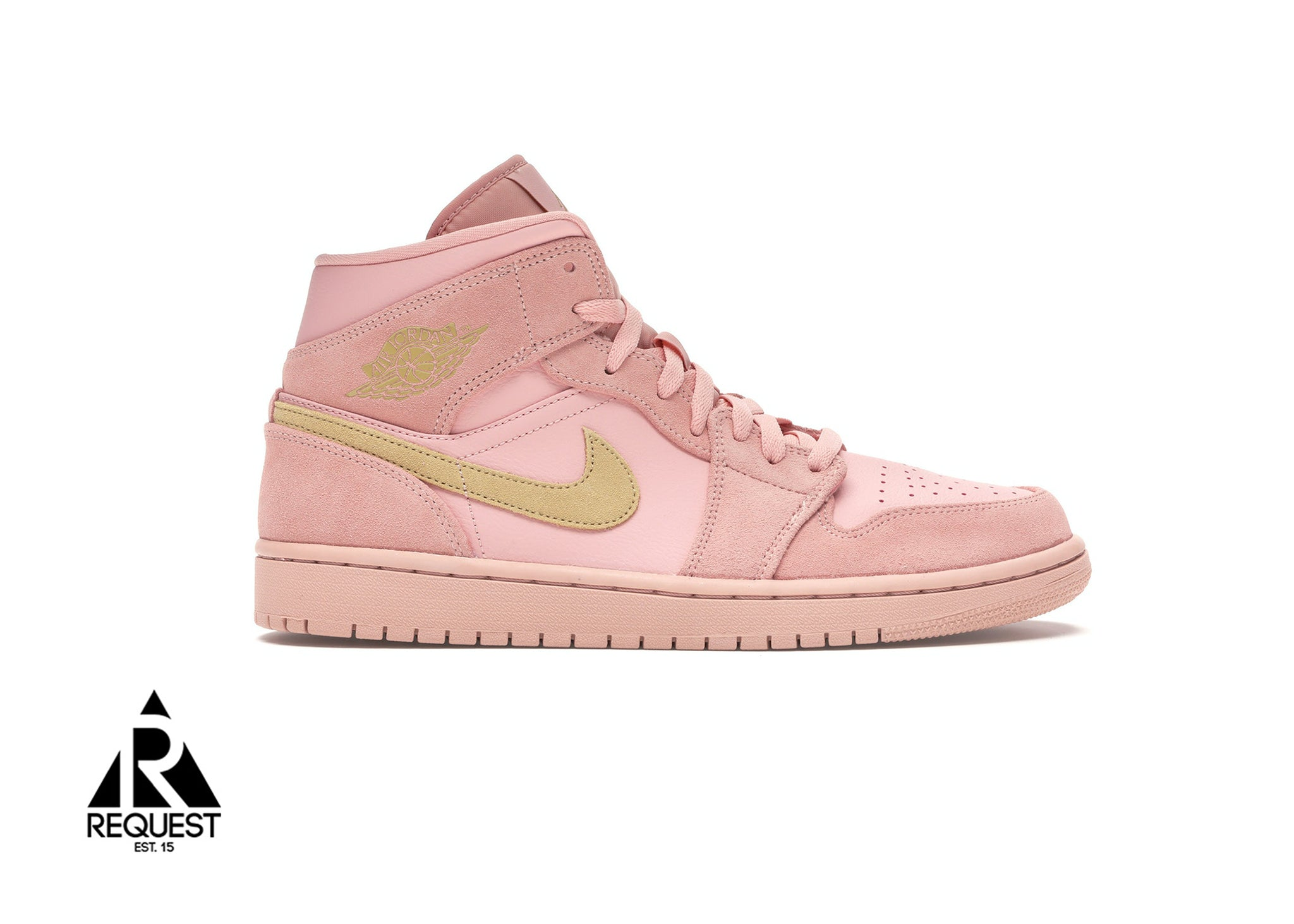 "Air Jordan 1 Retro Mid ""Coral Gold"""