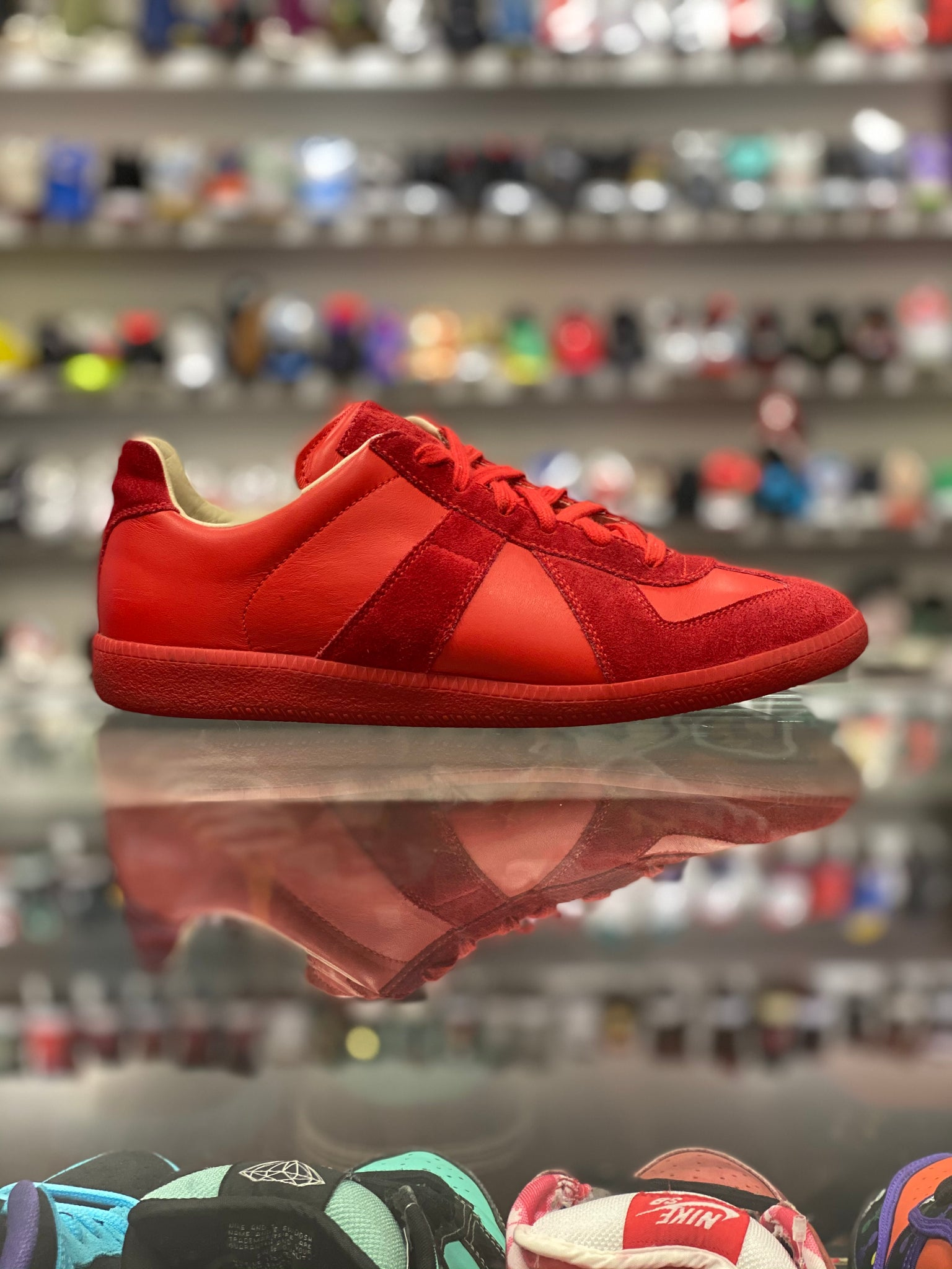 "Mason Margiela Low ""Red"""