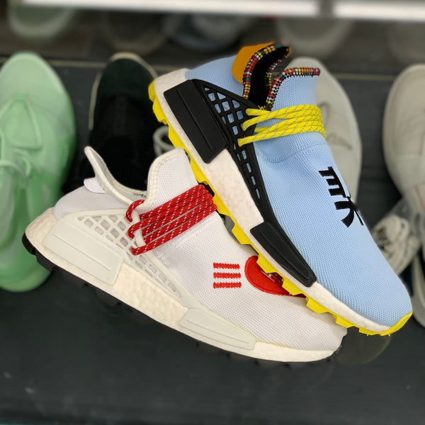 "Adidas Human Race ""Human Made White Red"""