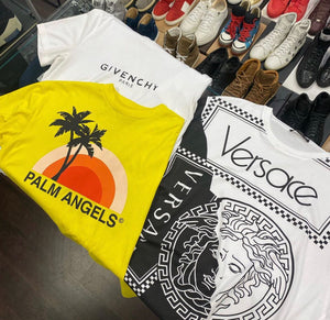 "Palm Angels Tee ""Yellow"""