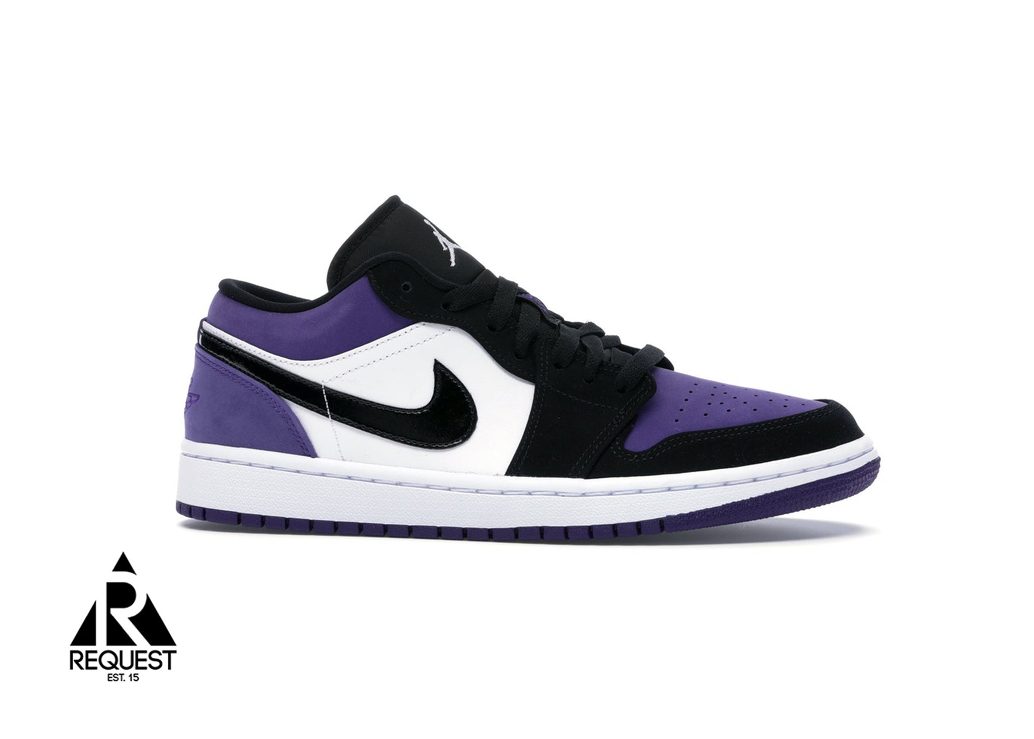 "Air Jordan 1 Retro Low ""Court Purple"""
