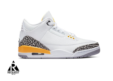 "Air Jordan 3 Retro ""Laser Orange W"""
