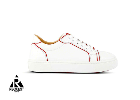"Christian Louboutin Low ""White and Red"""