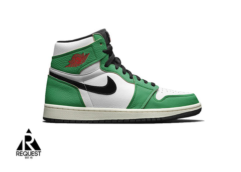 "Air Jordan 1 Retro ""Lucky Green"""