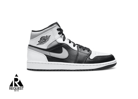 "Air Jordan 1 Retro Mid ""White Shadow"""