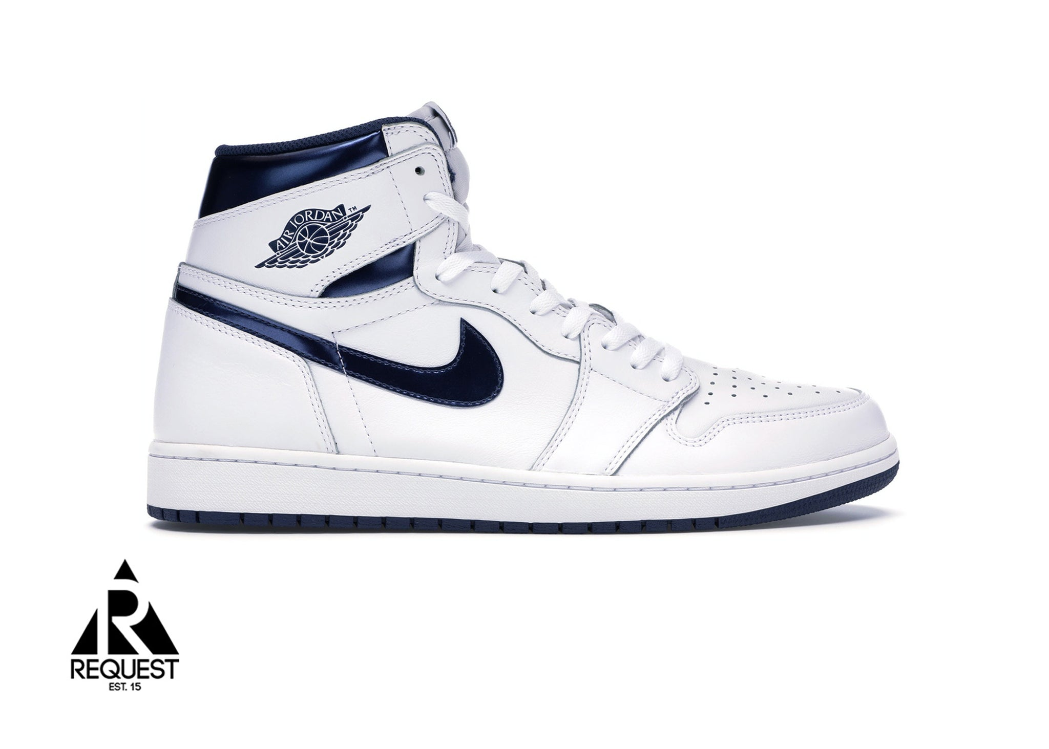 "Air Jordan 1 Retro "" Metallic Navy"""