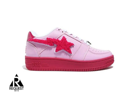 "Bapesta Low ""Pink Patch"""