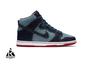 "Nike SB Dunk High ""Reese Forbes Denim"""