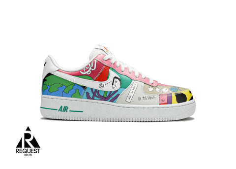 "Nike Air Force 1 ""Ruohan Wang"""
