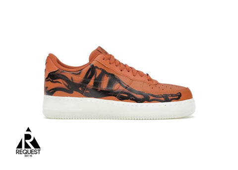 "Nike Air Force 1 ""Orange Skeleton"""