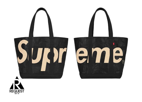 Black Supreme Tote Bag