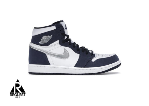 "Air Jordan 1 Retro High ""COJP Midnight Navy 2020"""
