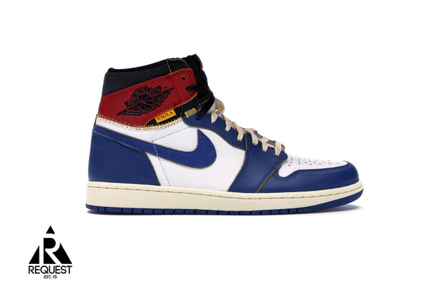 "Air Jordan 1 Retro ""Blue Toe Union"""