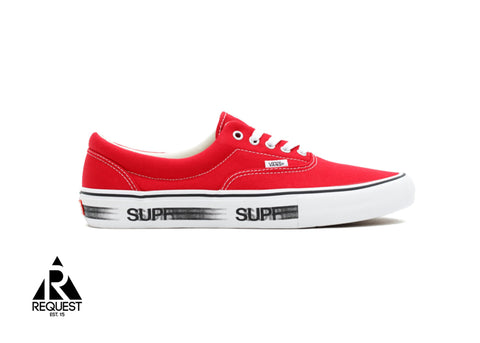 "Vans X Supreme ""Red Motionlogo"""