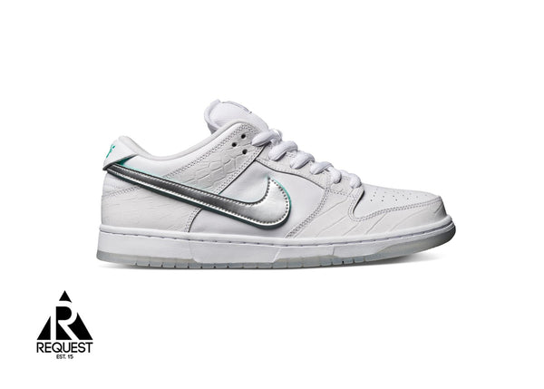 "Nike SB Dunk Low ""White Diamond"""