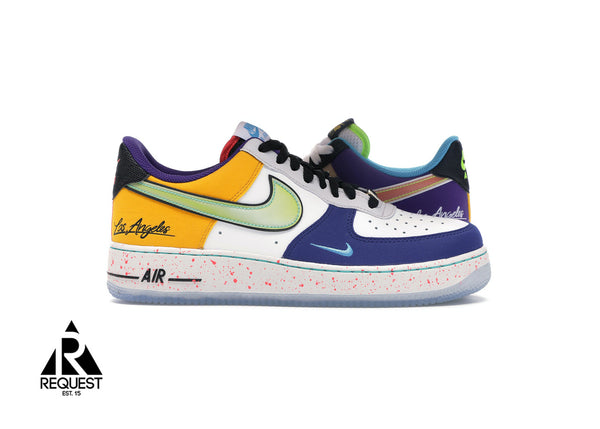 "Nike Air Force 1 Low ""What The LA"""