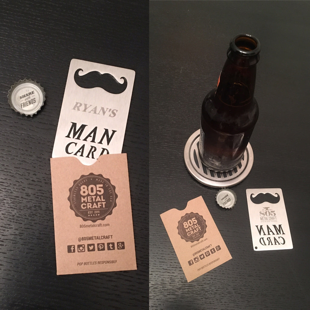 Personalized Man Cards Now on sale!!!