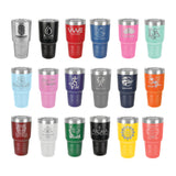 30oz Insulated Stainless Tumbler Custom Logo Laser Engraved