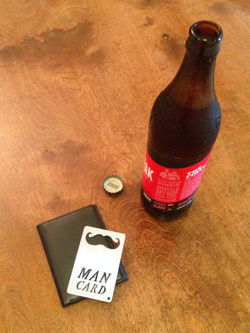 MAN CARD Wallet Sized Bottle Opener