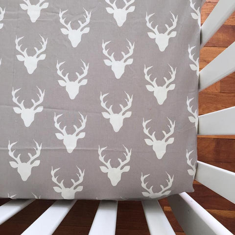 grey deer sheet