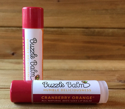 Cranberry-Orange Lip Balm