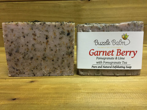 Garnet Berry: Pomegranate & Lime with Pomegranate-Rose Tea