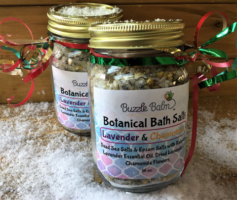 Buzzle Balm Bath Salts Gift Pack
