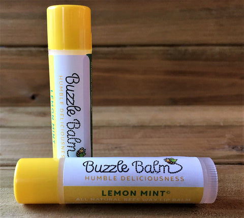 Lemon-Mint Lip Balm