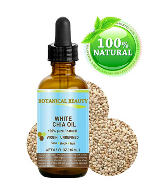 White Chia Seed Oil For Face Cupping