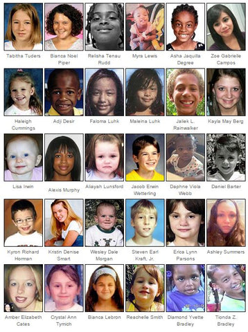 Almost a Million Missing Children in America – ICE gear™
