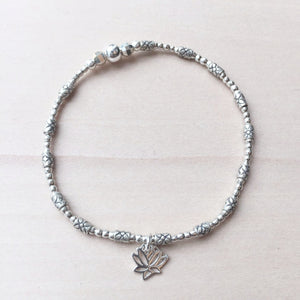 Be Transformed Bracelet - Lotus Flower