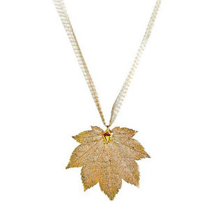 Maple Leaf - Gold Plated