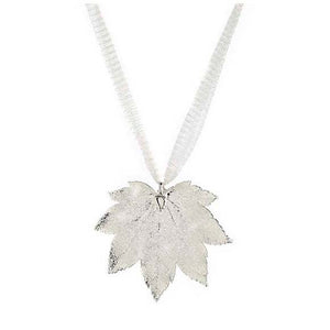 Maple Leaf - Silver
