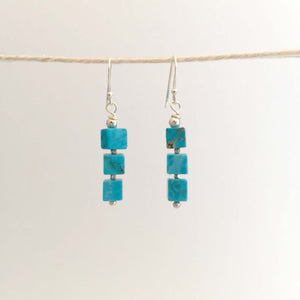 Gaia Earrings - Turquoise