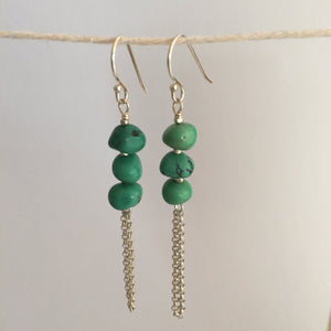 Athena Earrings - Turquoise