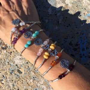 Customise Your Own Chakra Bracelet - $85