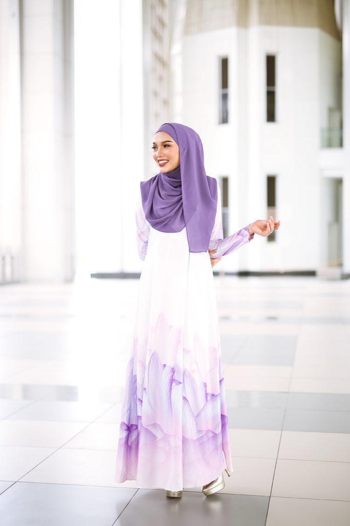 Petal Dress - Purple