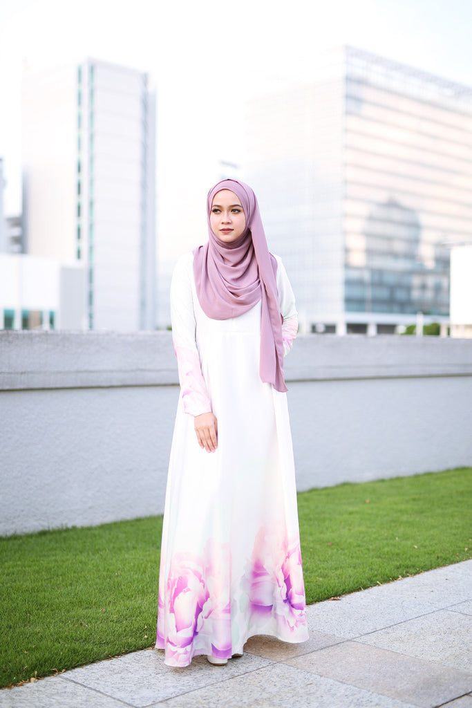 Peony Dress - Light Yellow