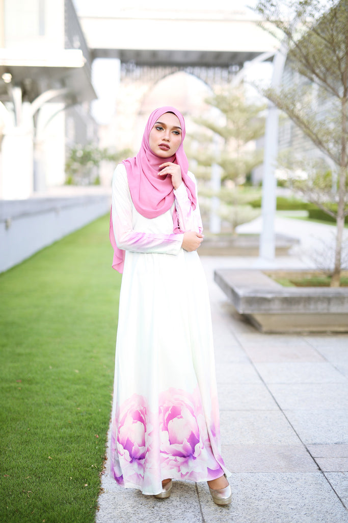 Peony Dress - Off White