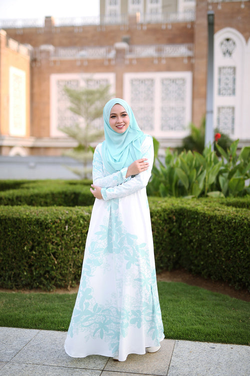 Autumn Jubah - Mint