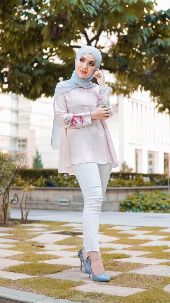Sophie  Doll Blouse - Pink