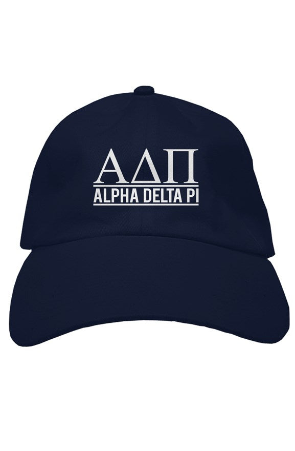 Alpha Delta Pi the house hat