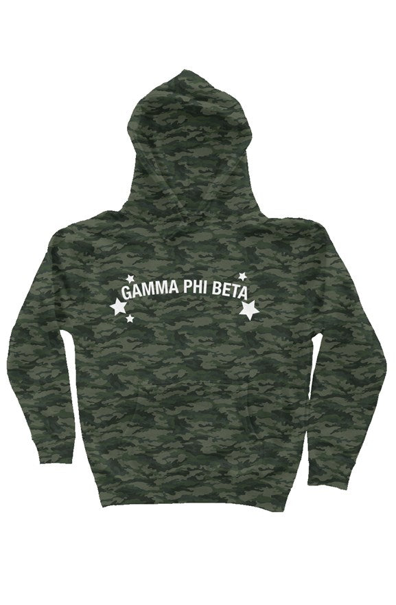 Gamma Phi Beta Haven't you heard? Camo is in - Hoodie